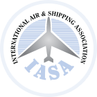IASA : International Air & Shipping Association Logo